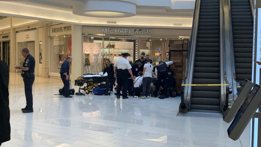 Boy thrown from Mall of America balcony back in school