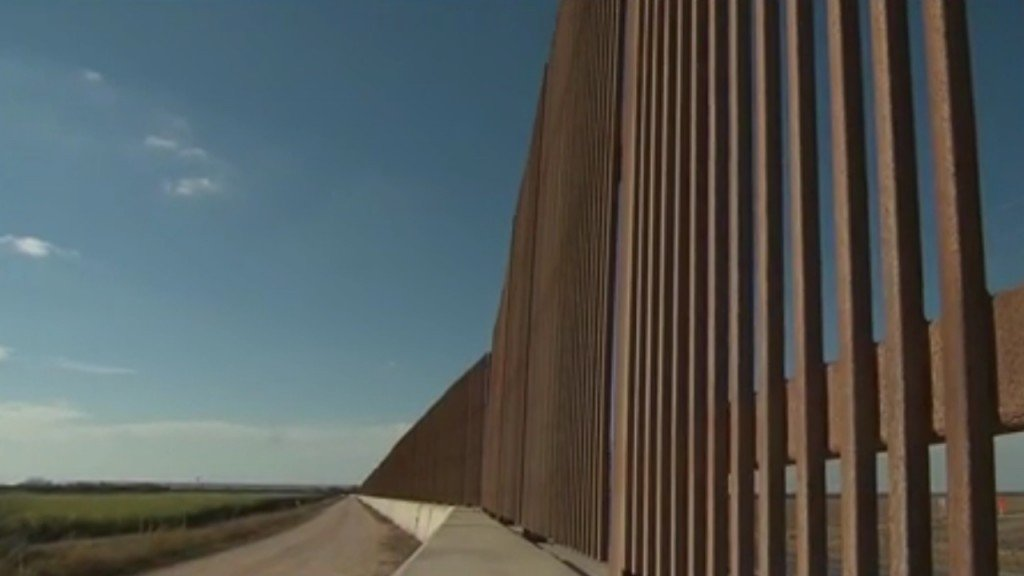 Here's where the money for the border wall is coming from