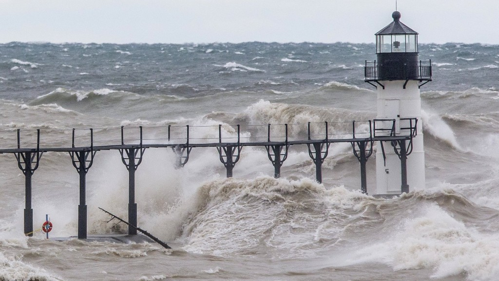 Gale-force winds, up to 20-foot waves likely on Lake Michigan