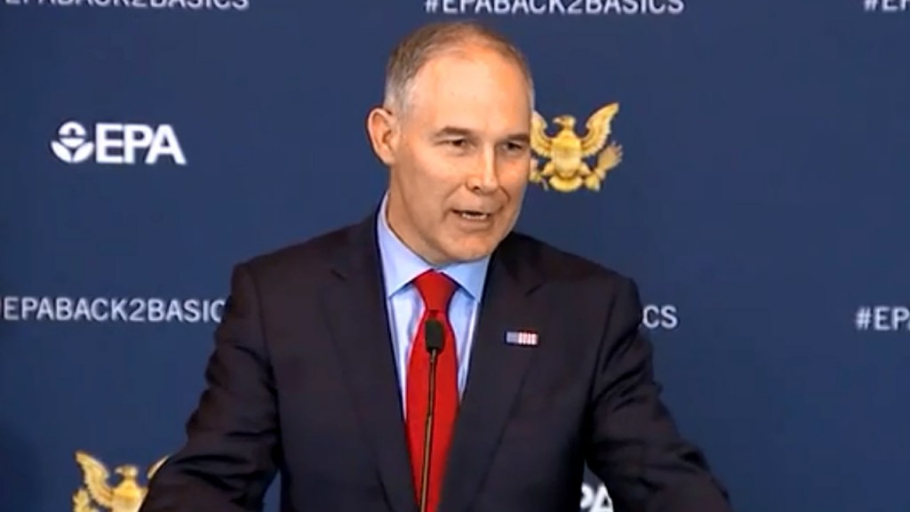 Dems: Pruitt aide asked for EPA office in Pruitt's hometown