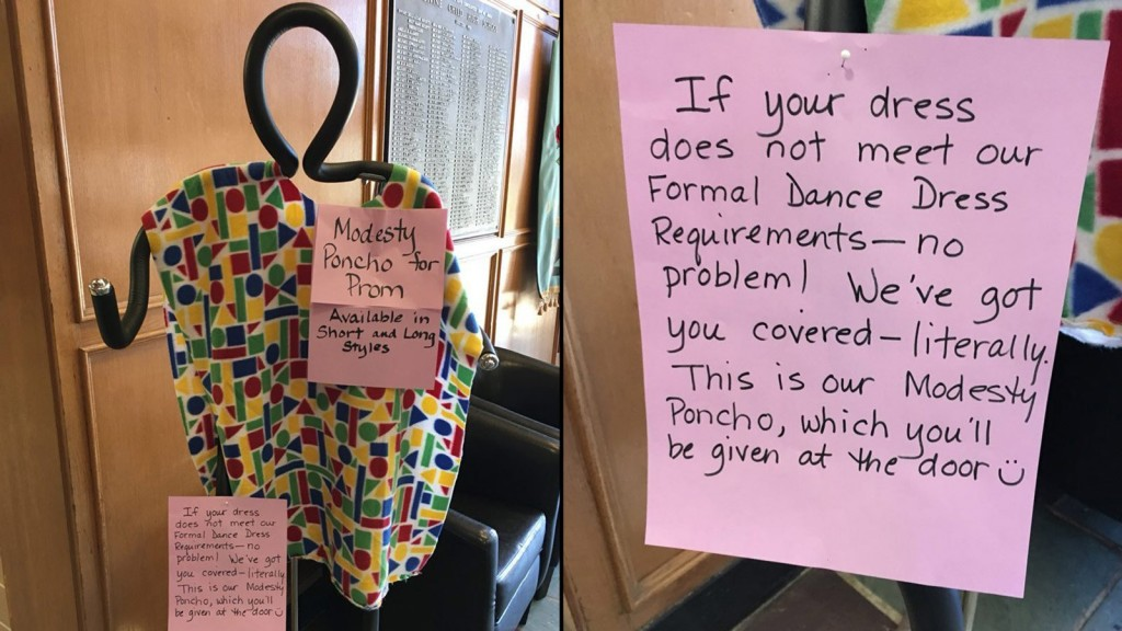 Catholic high school tells girls to cover up at prom