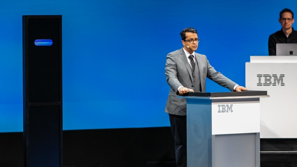 IBM computer stars in Cambridge debate on the dangers of AI