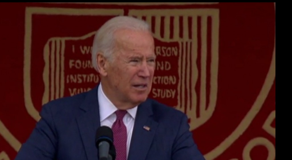 """Biden: 2016 election tapped into """"our darkest emotions"""""""