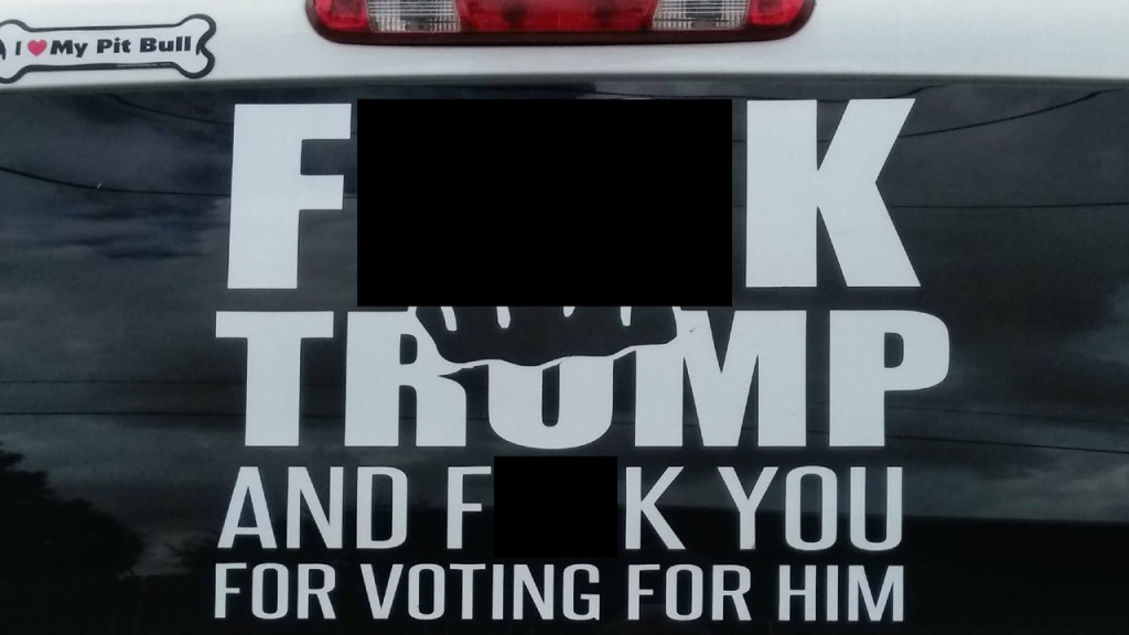 Texas sheriff calls out truck's anti-Trump decal, sparks debate
