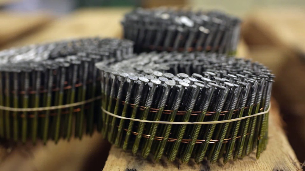 Largest US nail manufacturer clings to life under steel tariffs