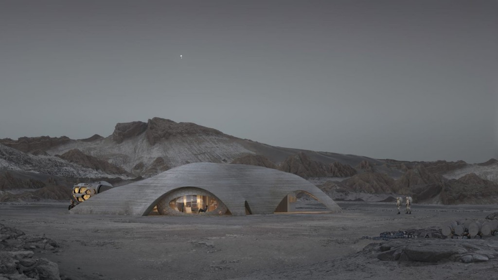 Is this how we'll live on Mars?