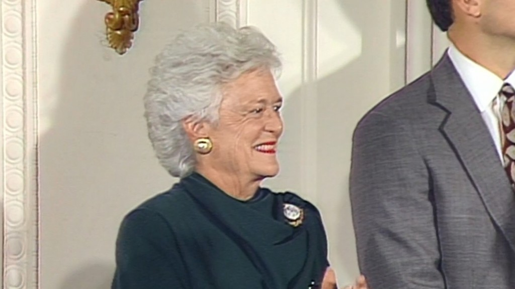 Barbara Bush had a passion for literacy