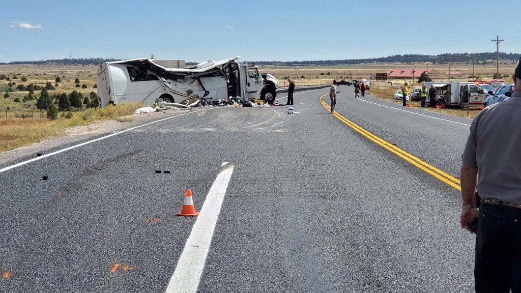 Driver of Utah tour bus that crashed was on his first trip with company