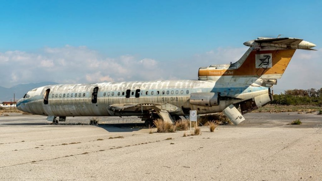 Nicosia International Airport: The Cypriot airport abandoned for 44 years