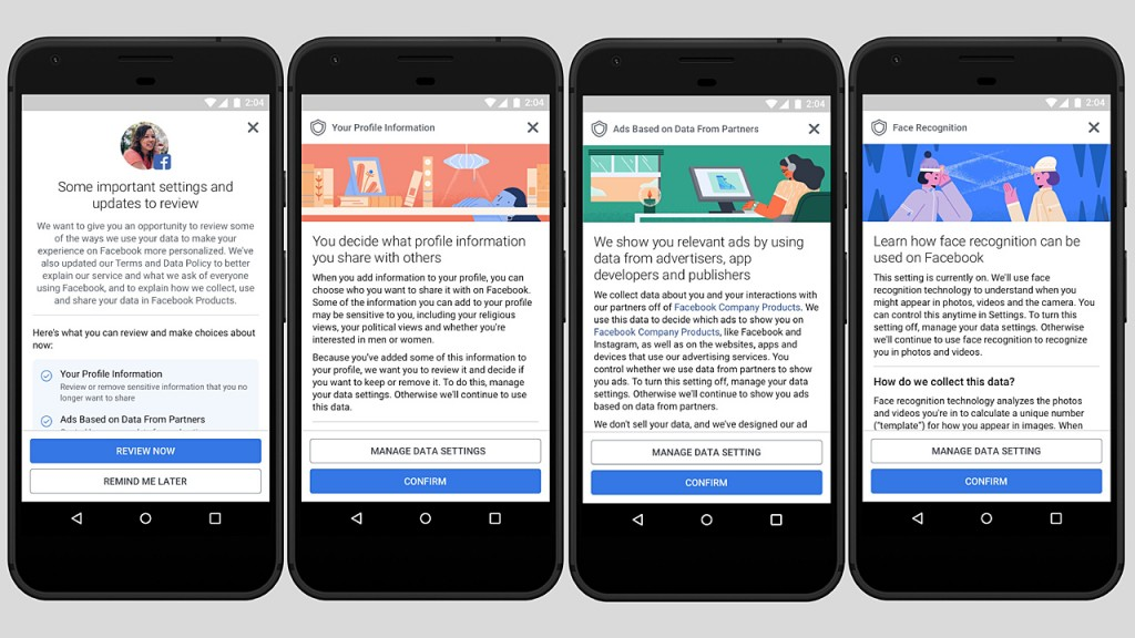 Facebook, Google already facing lawsuits under new data rules
