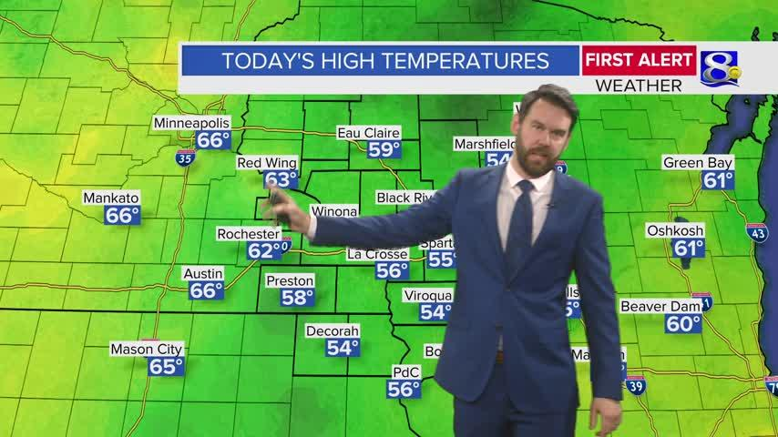 Your Saturday Evening Weather Forecast