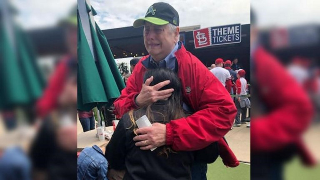 Baseball brings heart transplant recipient, donor's family together