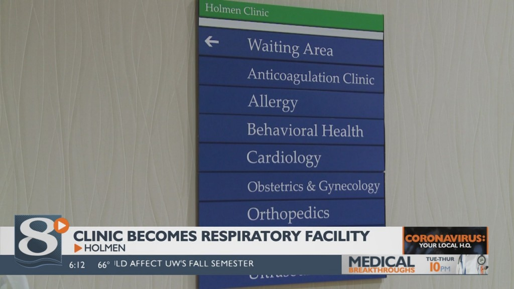 Mayo Clinic Health System Location In Holmen Temporarily Becoming A Facility For Patients With Only Respiratory Issues