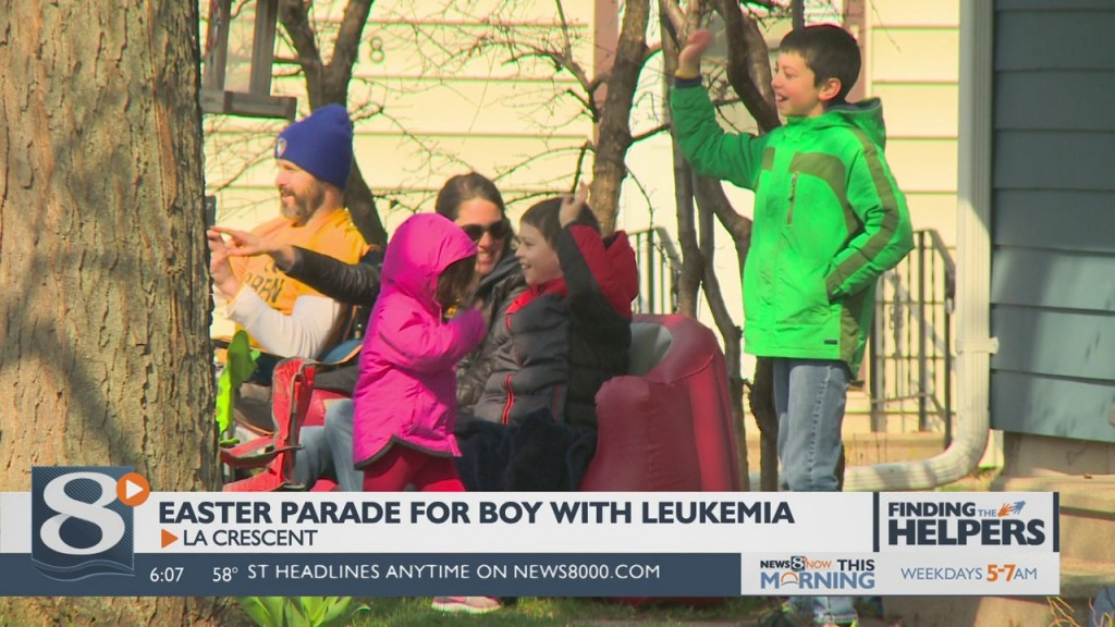 Easter Parade For Boy With Leukemia