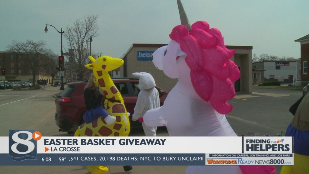 Local Businesses, Non Profit Join For Easter Basket Giveaway