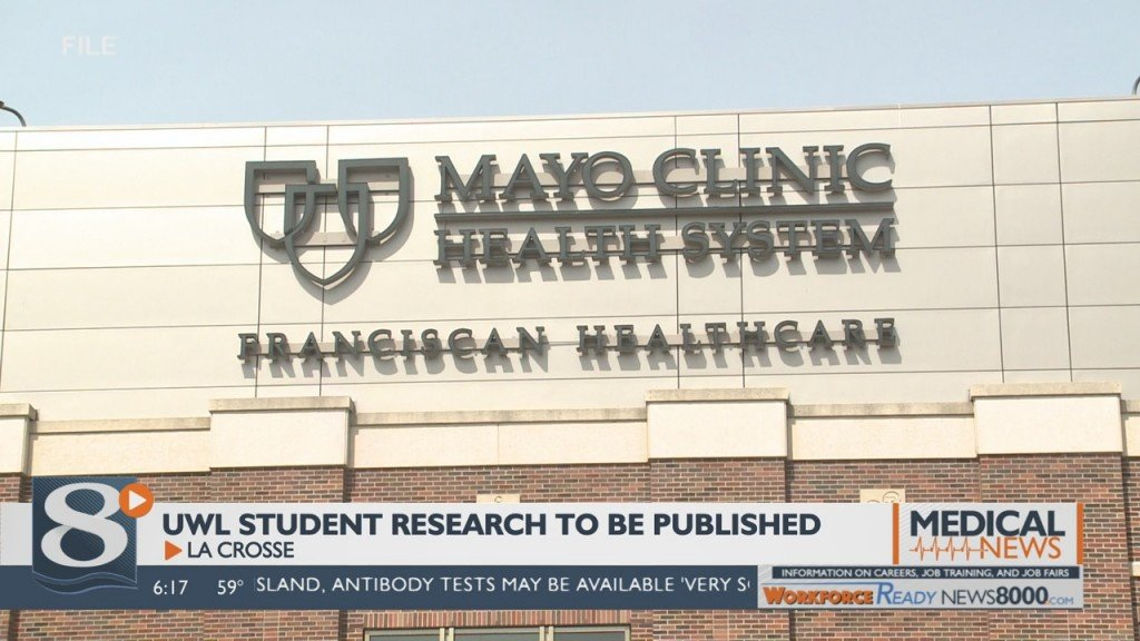Uwl Student Research Conducted With Mayo To Be Published