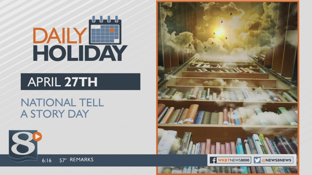 Daily Holiday National Tell A Story Day