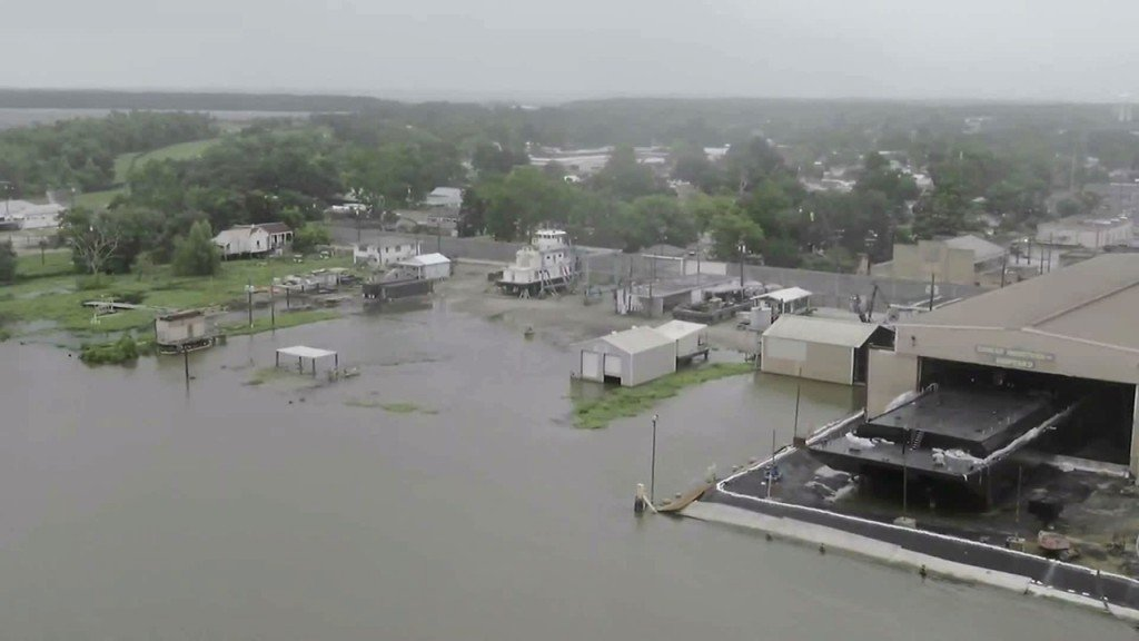 Despite widespread flooding, Louisiana spared brunt of Barry's wrath
