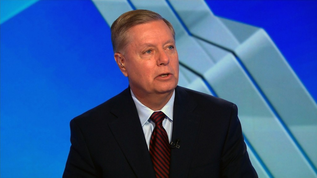 Trump slams Graham over criticism of Syria policy