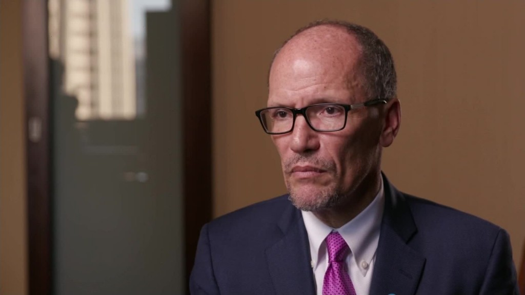DNC chair: We 'always knew' election would be close