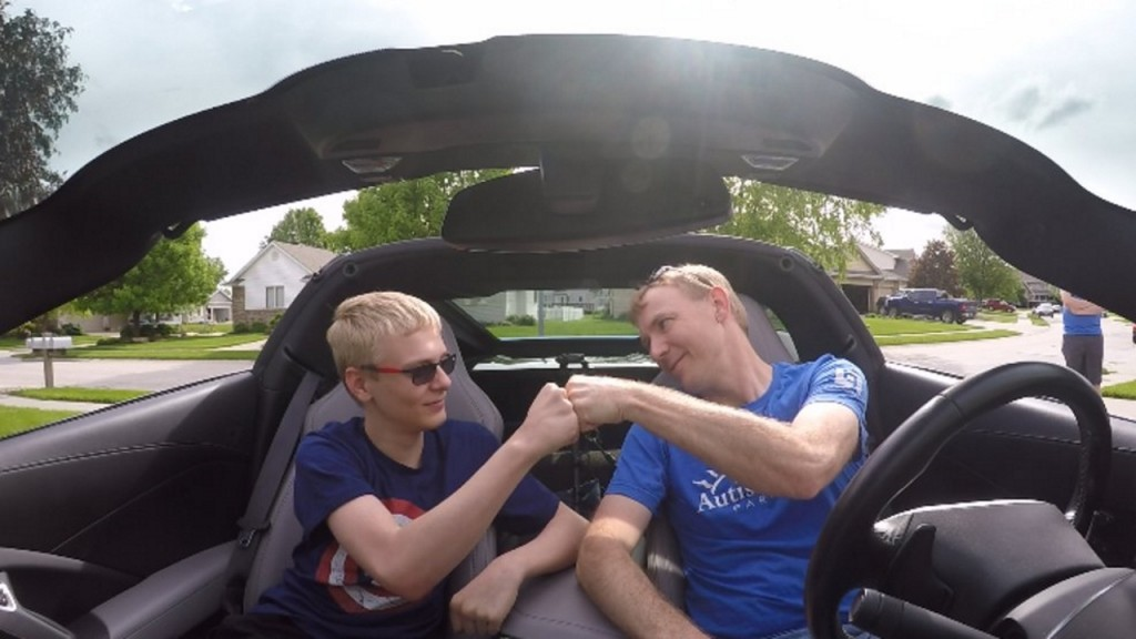 Father, son road trip to raise money for autism programs