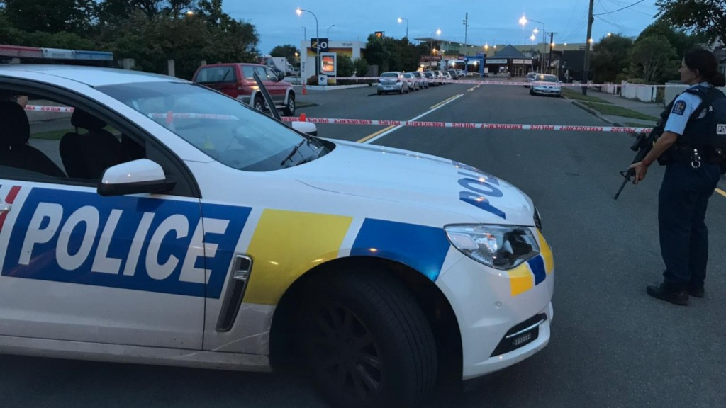 Christchurch footage shows suspect fired at people from his car