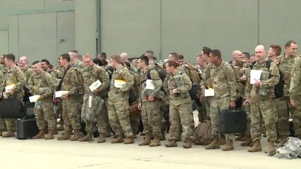 Wisconsin troops deploy to Ukraine