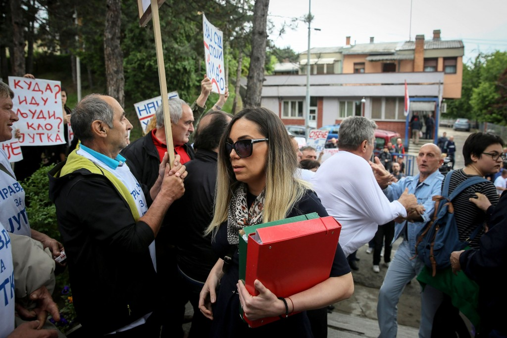Serbia alleged harassment victim fights lonely battle for justice