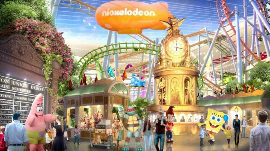 Nickelodeon to open North America's largest indoor theme park