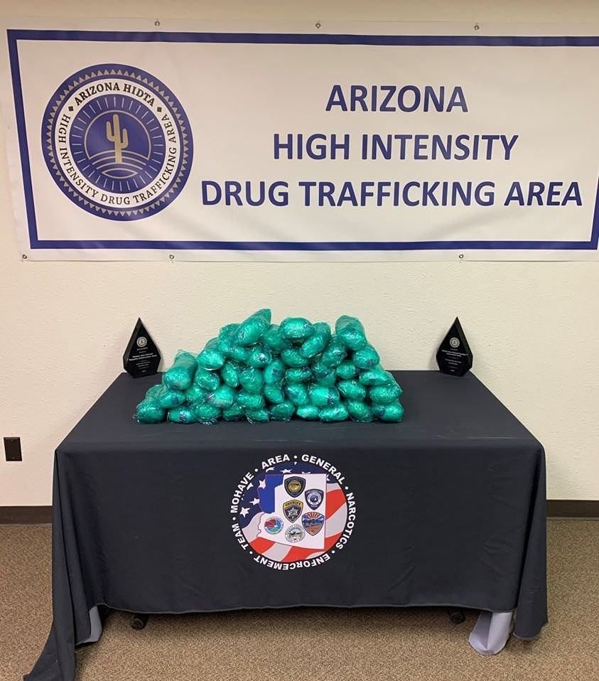 Arizona detectives seize $1.9 million of meth in plain view