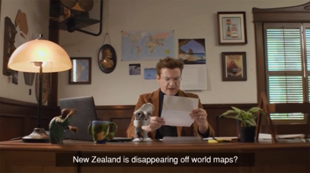 New Zealand wants to know why country is left off maps