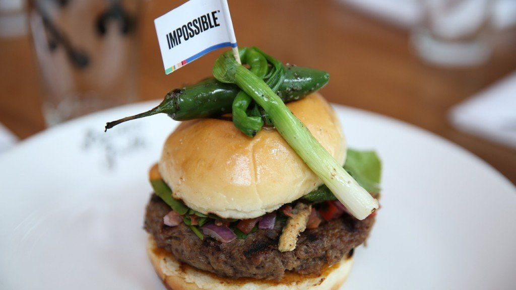 Impossible Burger arrives in East Coast grocery stores