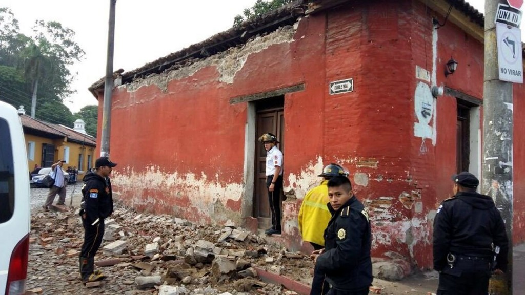 Magnitude 6.8 earthquake causes damage in Guatemala, officials say
