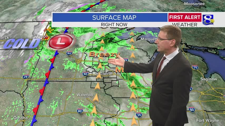 Your Thursday Evening Weather Forecast