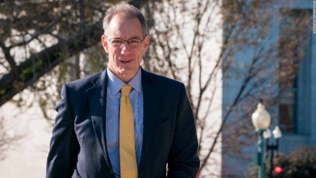 Senior OMB official arrives on Capitol Hill for deposition