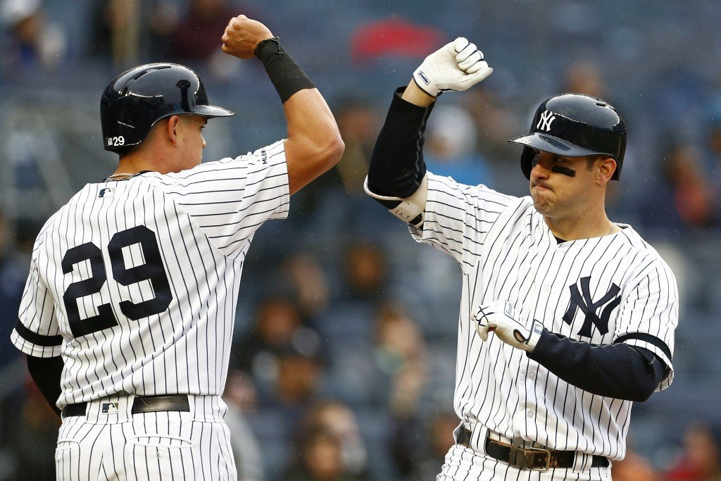 Germán wins again, Yanks top Twins 4-1 in rain-stopped game