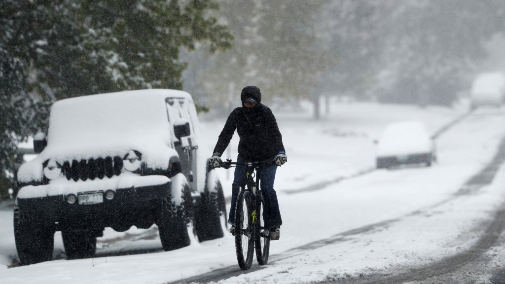 24-hour temperature drop of 64 degrees sets Denver record