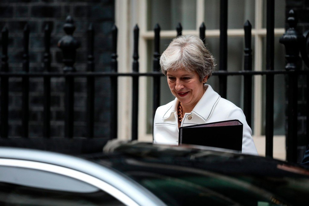 May to address EU leaders as Tusk warns no-deal Brexit 'more likely than ever'