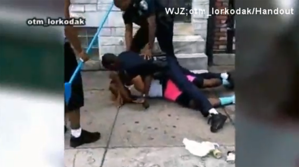 Former Baltimore officer indicted in beating that was caught on video