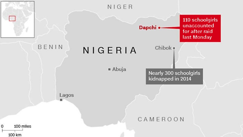 Nigeria reveals names of 110 girls kidnapped by Boko Haram