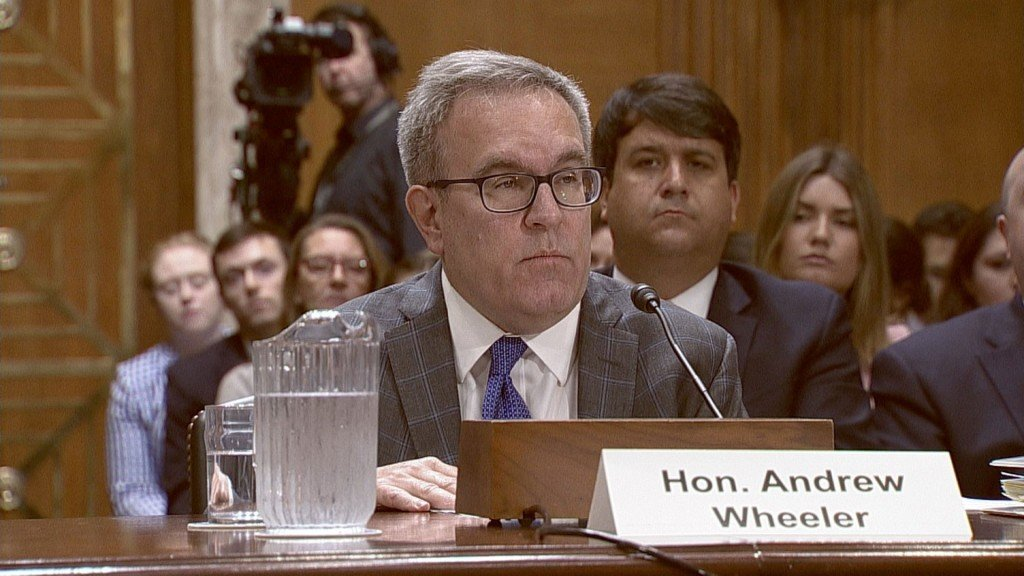 EPA scientist confronts Wheeler over climate crisis at award ceremony