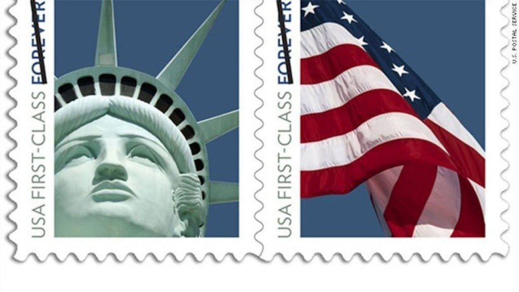 The price of 'Forever' stamps just went up