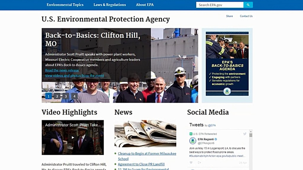 Administration focused on EPA website immediately, documents show