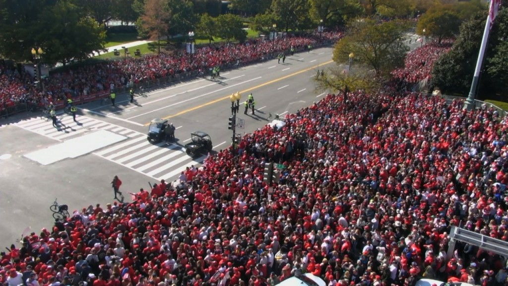 DC gives Washington Nationals victory parade