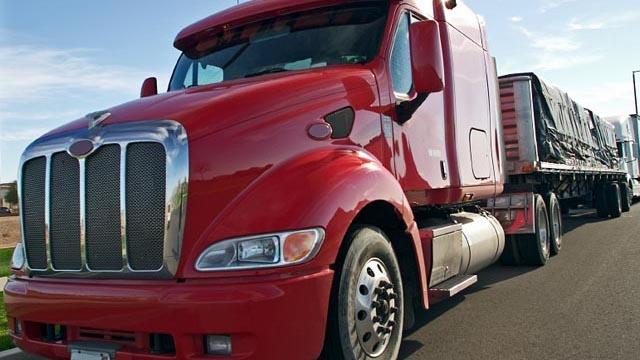 Smog check required for big trucks in California