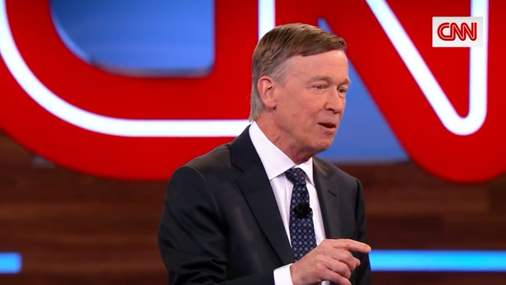 Hickenlooper: Why aren't female candidates being asked about male VP pick?
