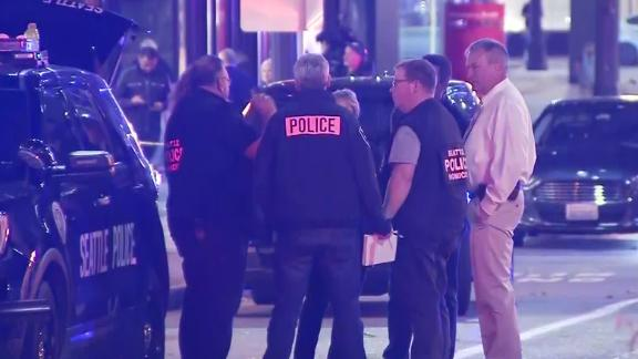 Seattle shooting suspect caught on video