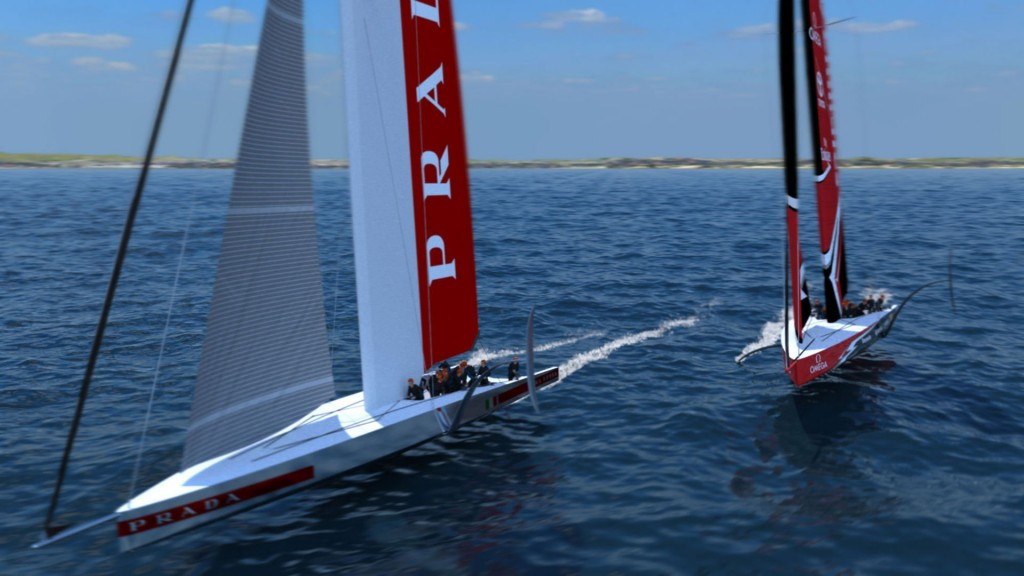 America's Cup: New boats to fly faster
