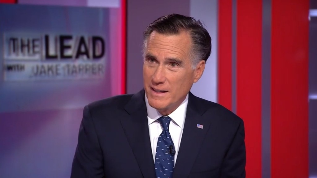 Romney says he'll vote to block national emergency declaration