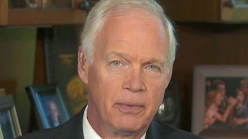 GOP Sen. Ron Johnson barred from entering Russia
